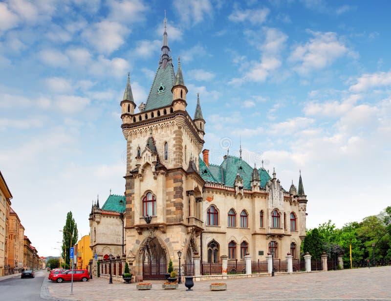 Словакия, Kosice - дворец Jakabov стоковое изображение
