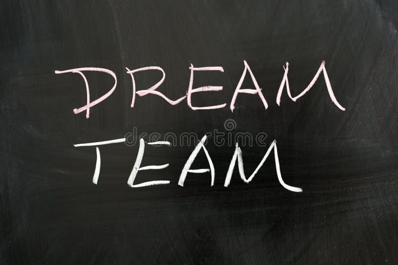 Команда мечты стоковые изображения