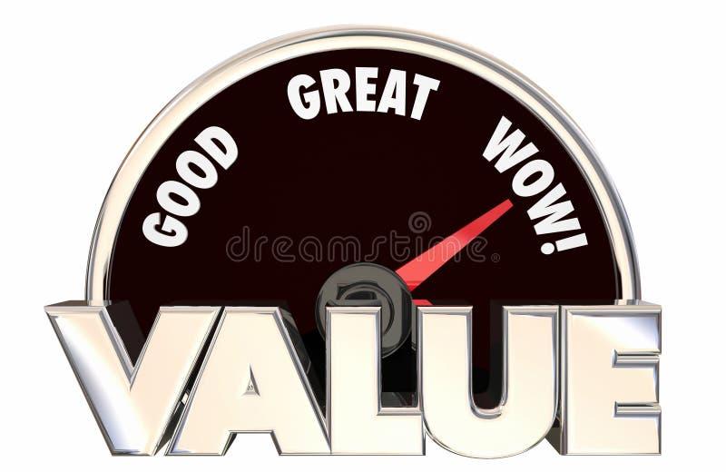 Слова спидометра 3d приобретения покупки значения верхние самые лучшие высокие хорошие бесплатная иллюстрация