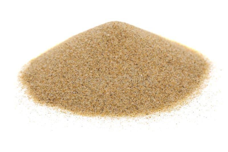 сложите песок стоковое изображение rf