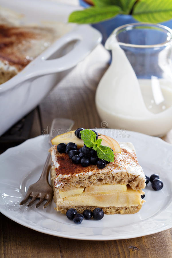 Слои хлеба wholewheat Appele стоковые изображения