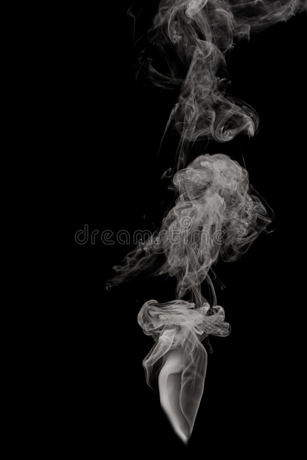 Слойка дыма стоковое изображение rf