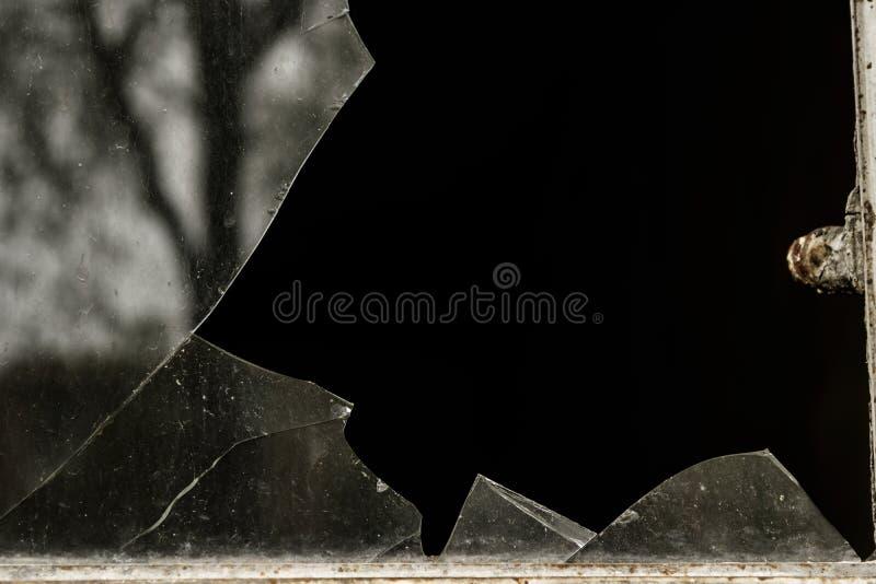 сломленное стекло стоковые фото