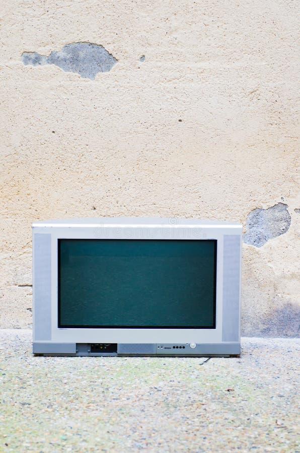 Сломленное ТВ стоковая фотография rf