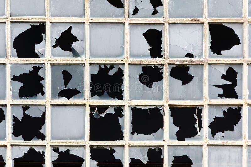 сломленные окна стоковое фото rf