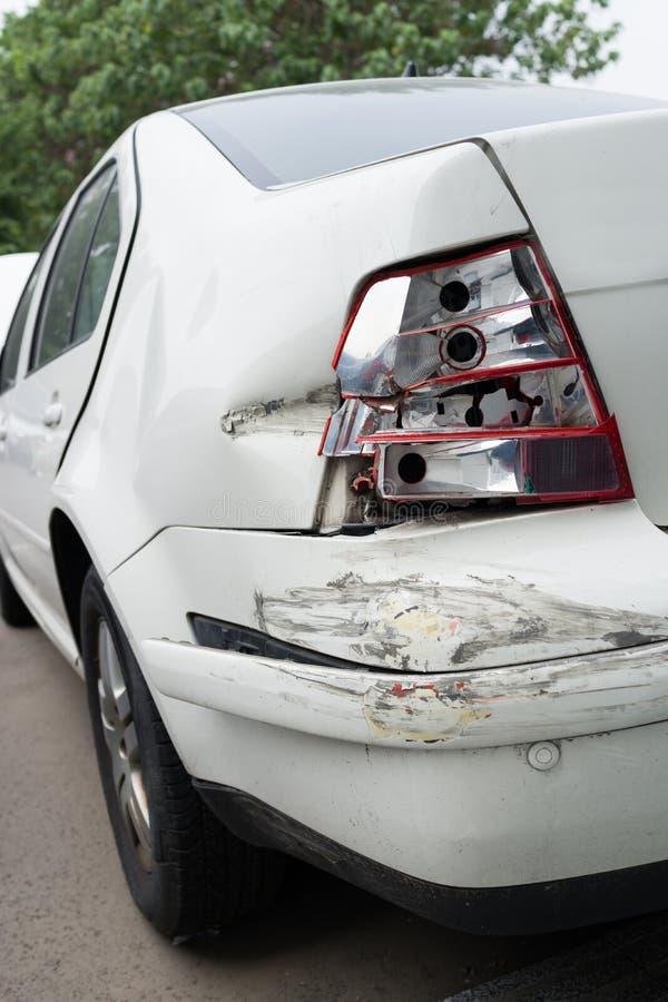 сломленный автомобиль стоковое фото rf