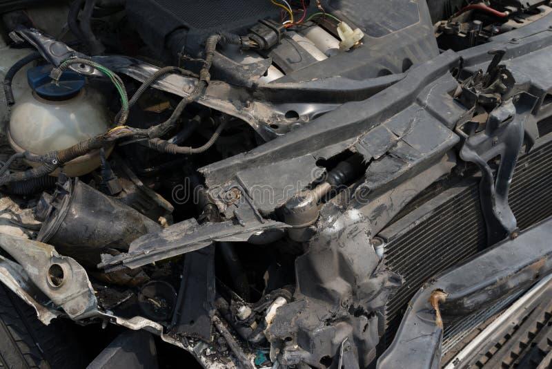 сломленный автомобиль стоковые изображения rf