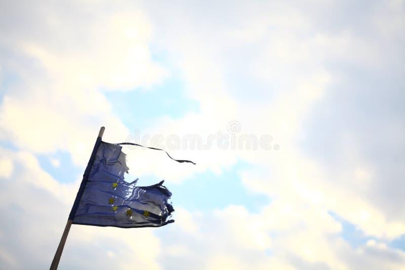 Сломленный ЕС. стоковые фотографии rf