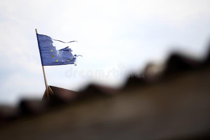 Сломленный ЕС. стоковая фотография rf