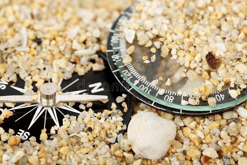 Сломленный компас стоковые фото