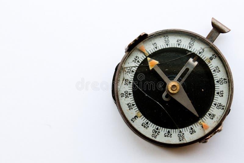 Сломленный компас стоковое фото rf