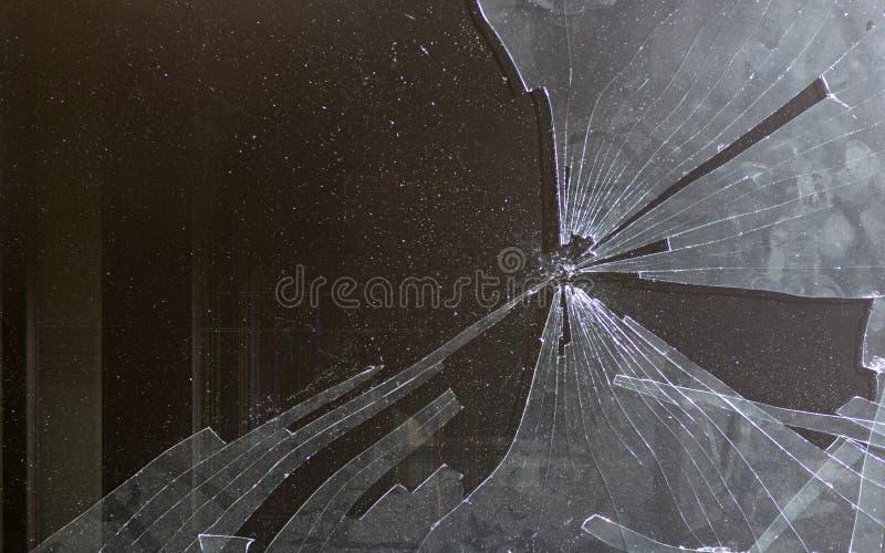 Сломленный экран компьютера стоковые изображения