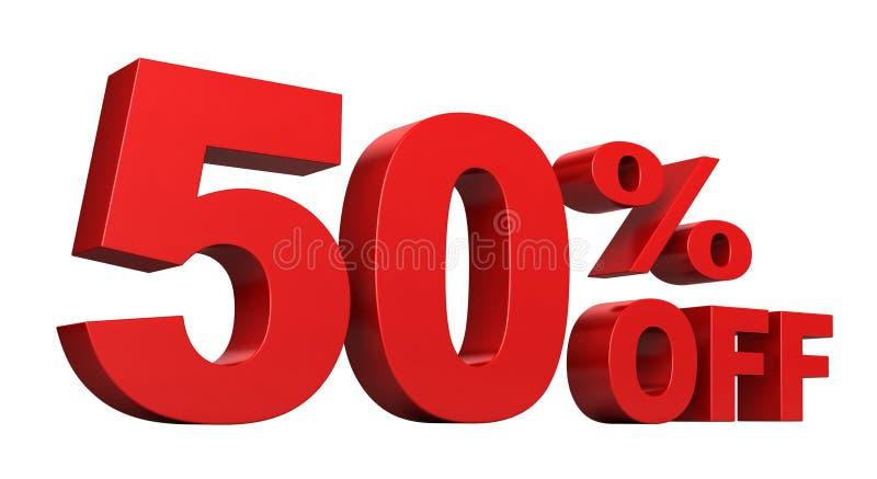 50 с процентов бесплатная иллюстрация