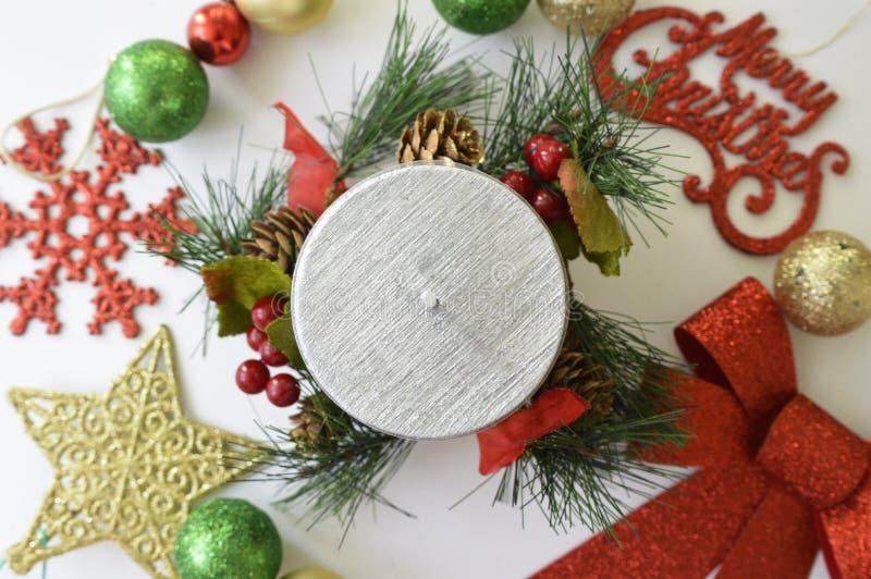 С Рождеством Христовым и с новым годом стоковая фотография rf