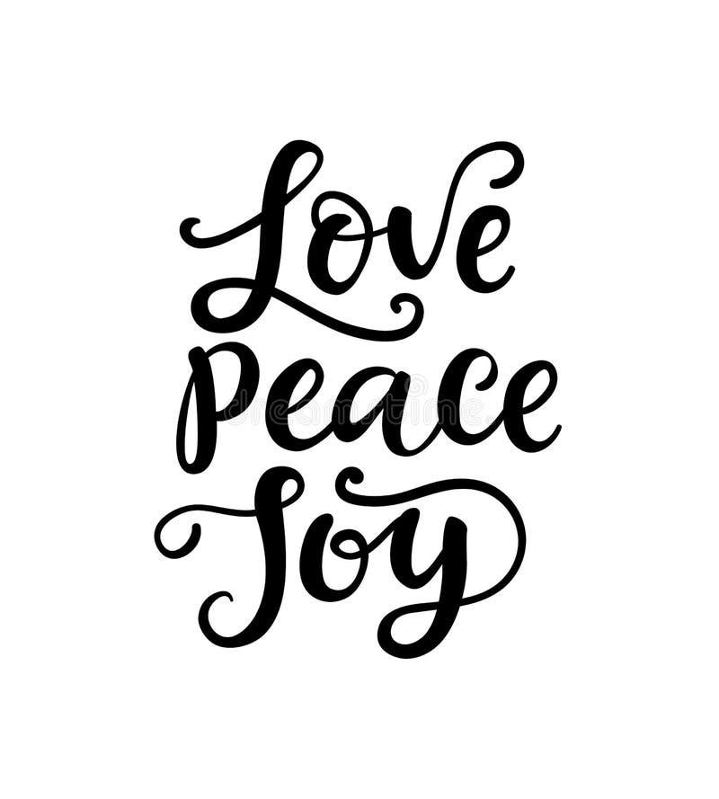 С Рождеством Христовым оформление, литерность руки Влюбленность, мир, утеха иллюстрация штока