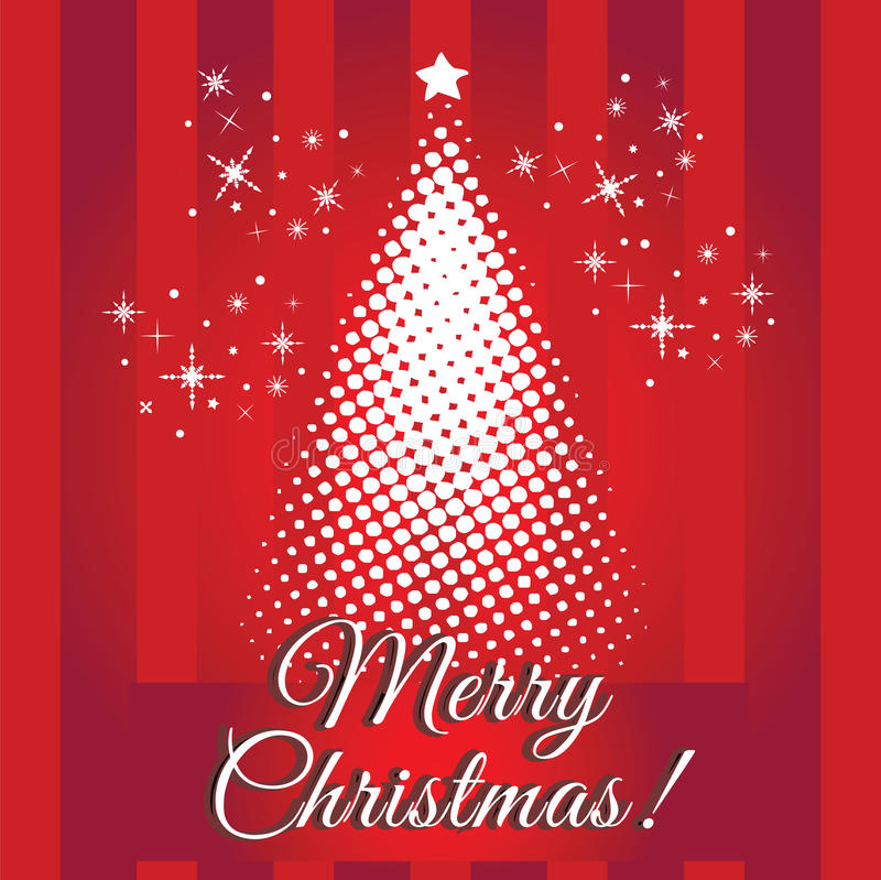 С Рождеством Христовым! Вектор eps10/искусство зажима стоковое изображение