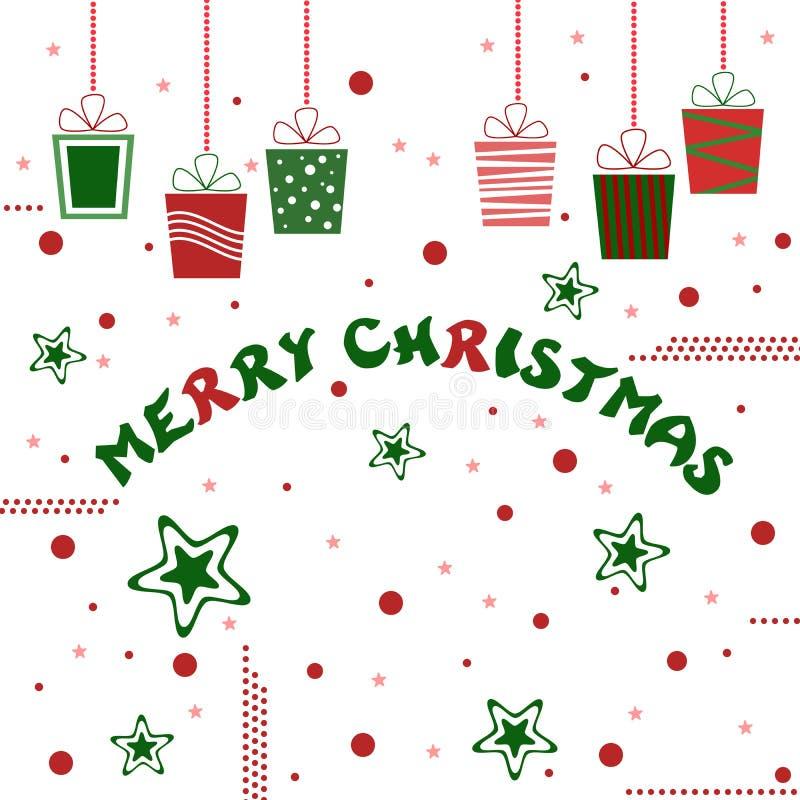 Download С Рождеством Христовым иллюстрация северного оленя Иллюстрация вектора - иллюстрации насчитывающей рождество, приветствие: 40585806