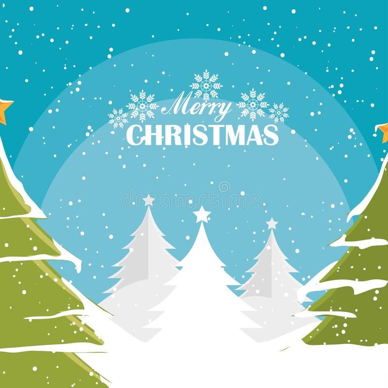 С Рождеством Христовым покупки бесплатная иллюстрация