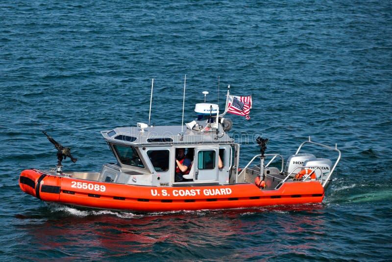 Служба береговой охраны США стоковые изображения