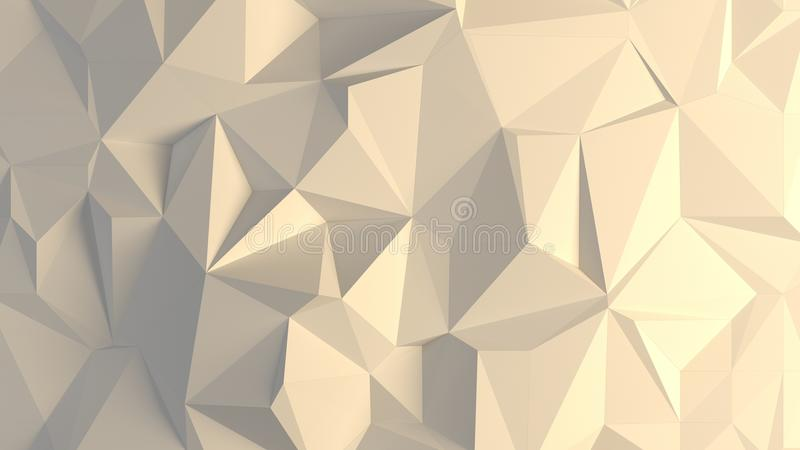 случайная предпосылка trigonals 3d стоковая фотография