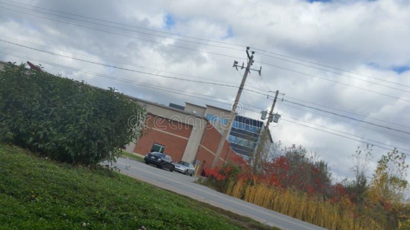 Случайное здание стоковая фотография rf