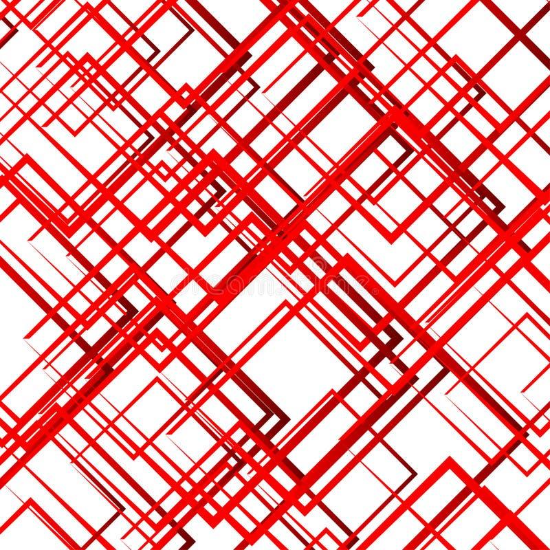 Download Случайные пересекая линии, квадраты Современное красочное геометрическое Te Иллюстрация вектора - иллюстрации насчитывающей линии, нервно: 81804456
