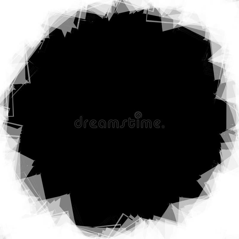 Download Случайные разбросанные формы Смогите быть использовано как рамка или предпосылка Иллюстрация вектора - иллюстрации насчитывающей рамка, наконечников: 81805877