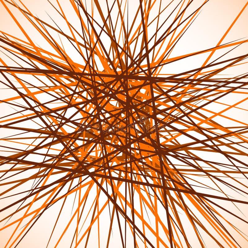 Download Случайные хаотические пересекая линии Абстрактный геометрический Monochrome Иллюстрация вектора - иллюстрации насчитывающей пересекать, самомоднейше: 81800133