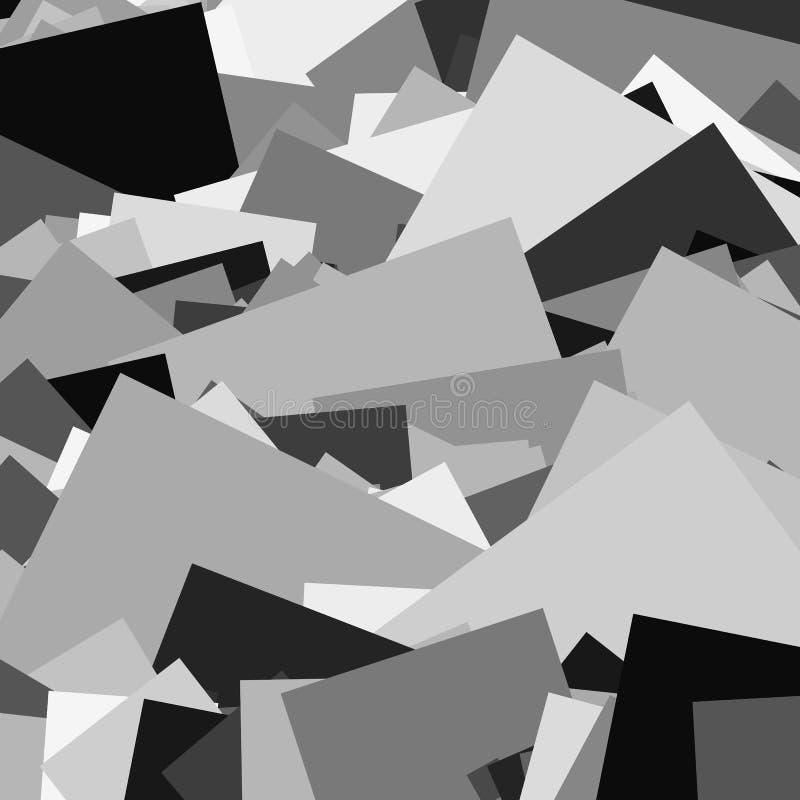 Download Случайные черепки, занозы резюмируют, художнические предпосылка/картина Иллюстрация вектора - иллюстрации насчитывающей график, monochrome: 81812326