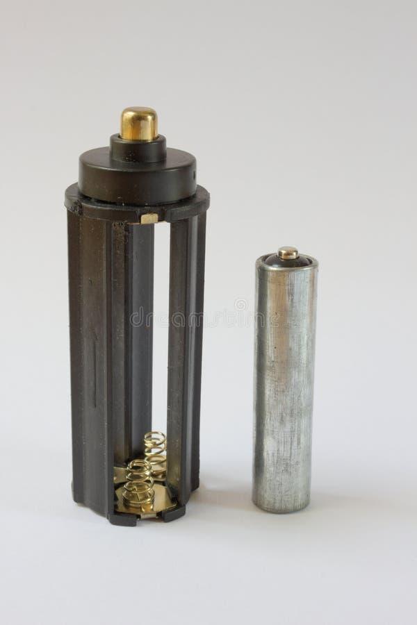 Случай блока питания батареи серый стоковая фотография