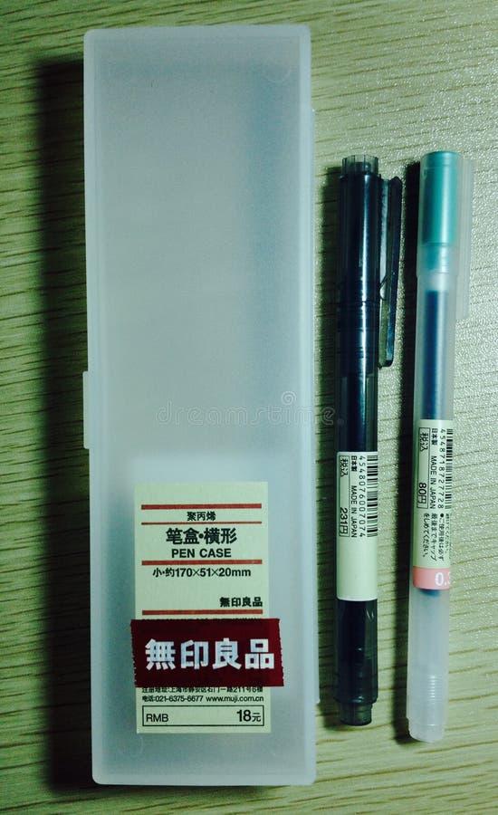 Случай ручки стоковая фотография rf