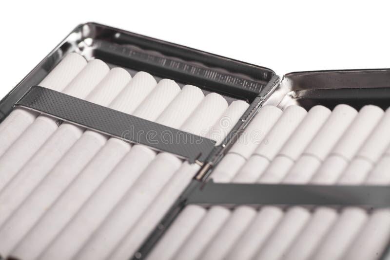 Случай сигареты стоковая фотография rf