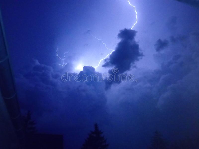 Случай шторма стоковые изображения rf
