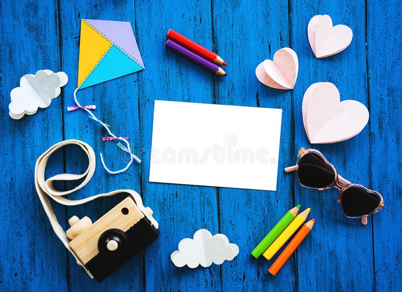 Ð¡olourful creative children`s background royalty free stock images