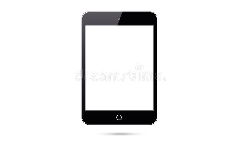 Таблетка андроида Ipad андроида вектора реалистическая иллюстрация штока