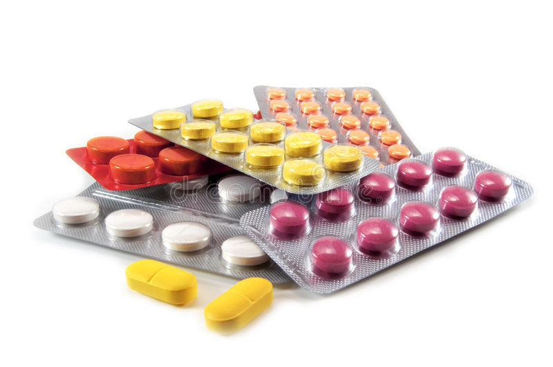 таблетки стоковые изображения rf