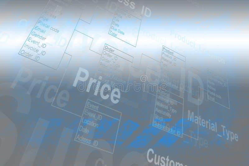 Таблица базы данных стоковые фотографии rf