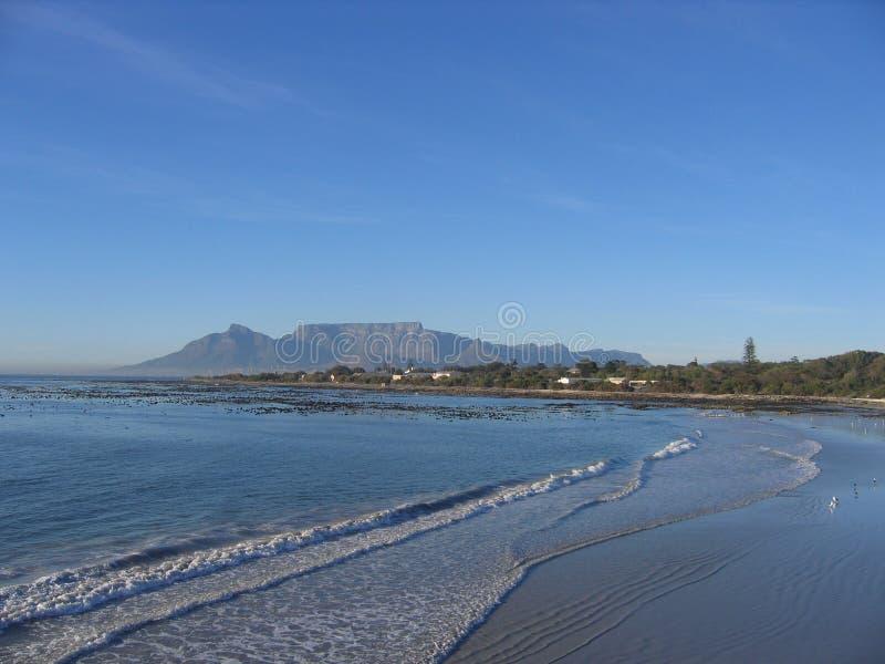 таблица горы Африки южная стоковая фотография