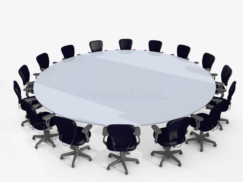 таблица конференции бесплатная иллюстрация