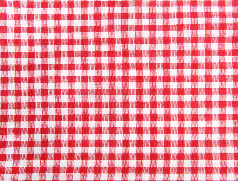 таблица пикника ткани безшовная стоковое фото