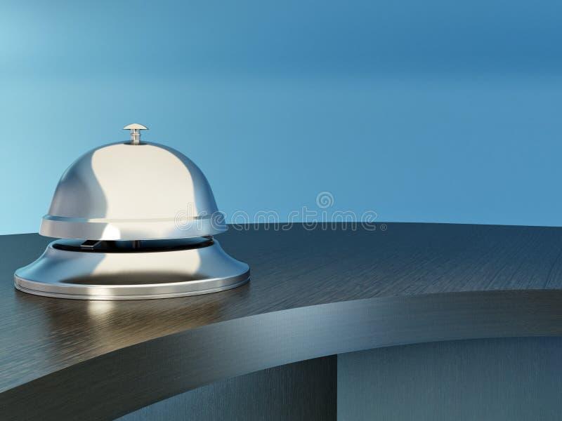 таблица приема гостиницы колокола иллюстрация штока