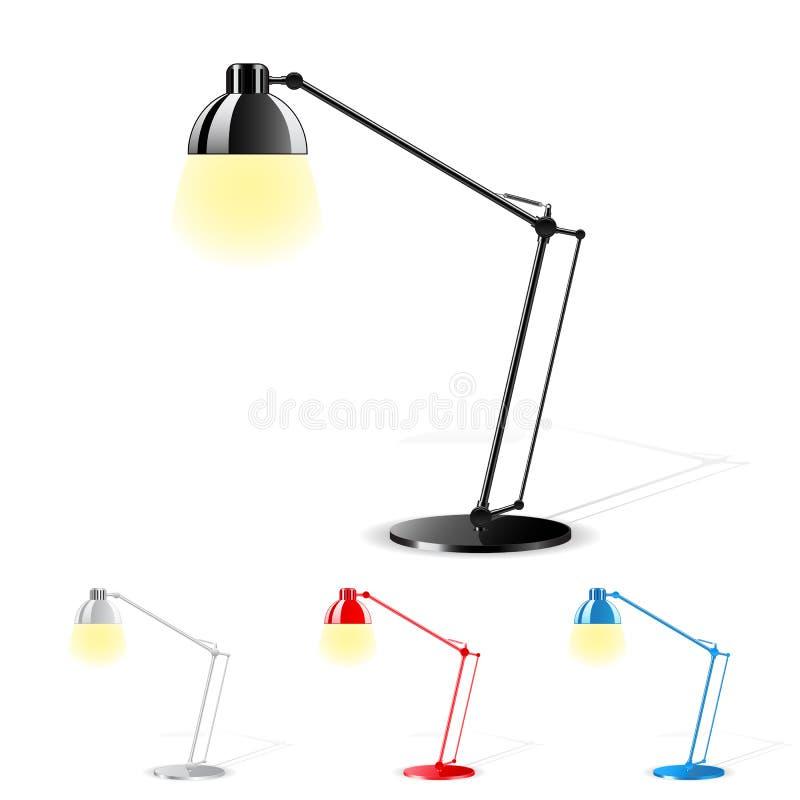 таблица светильника бесплатная иллюстрация