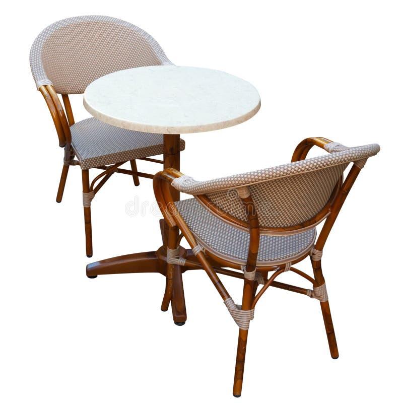таблица стулов стоковое фото rf