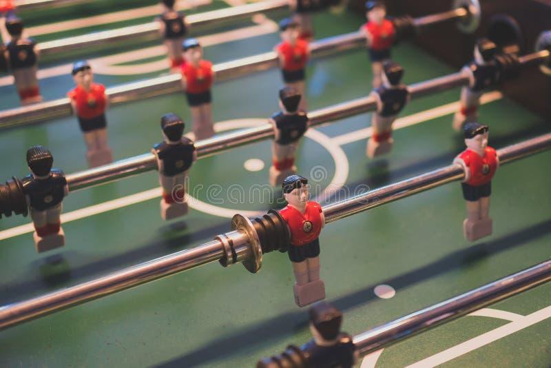 таблица футбольной игры стоковая фотография