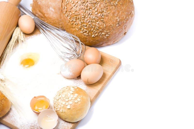 таблица хлебопекарни стоковые фотографии rf