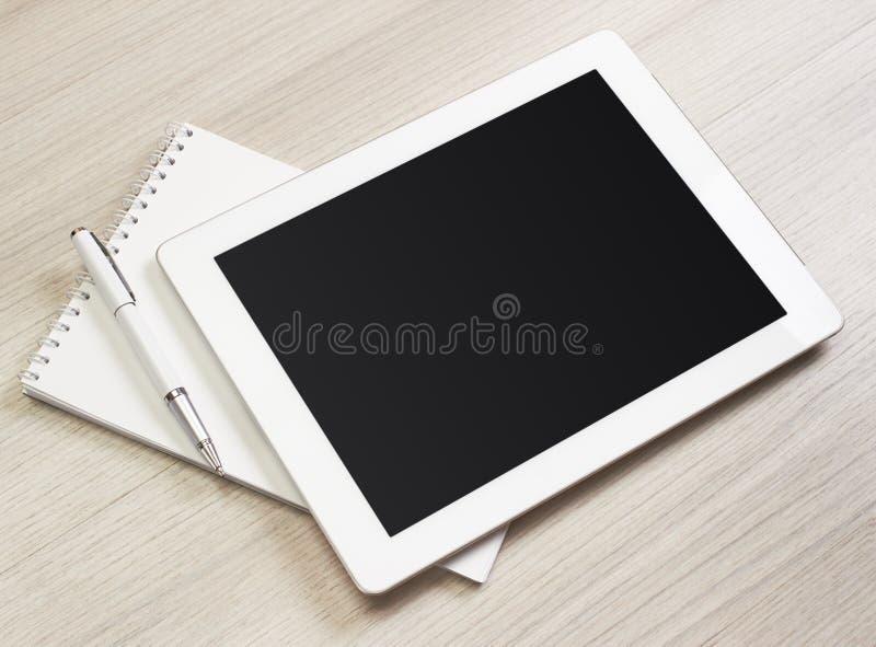 Таблетка цифров стоковое изображение