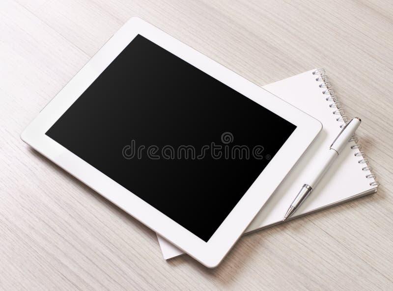 Таблетка цифров стоковые изображения