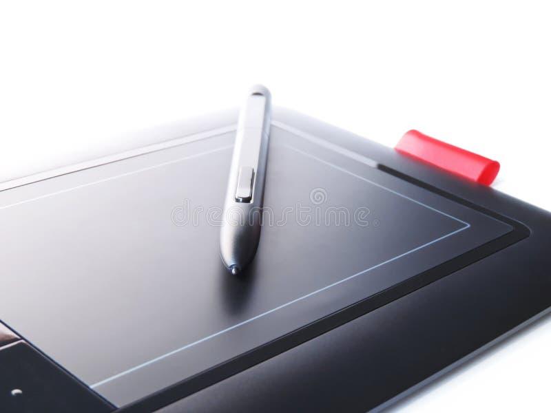 Таблетка чертежа стоковые изображения