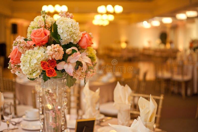 Таблица венчания стоковое изображение