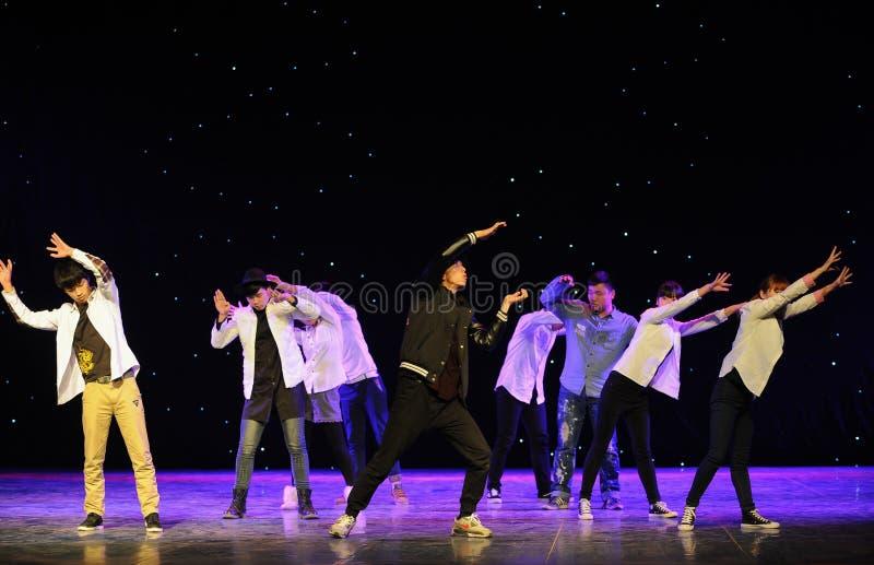 Тазобедренный танец хмеля стоковое изображение
